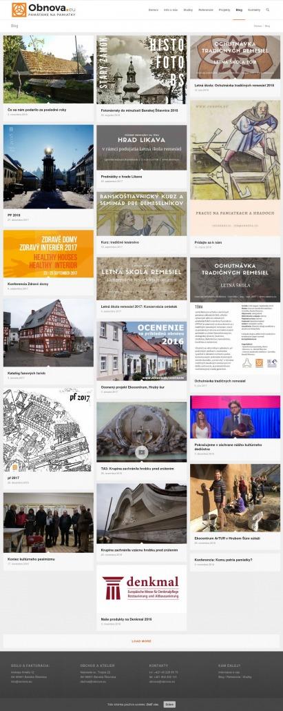 e676b02c0 Spustili sme novú web-stránku www.obnova.eu - Obnova s.r.o.