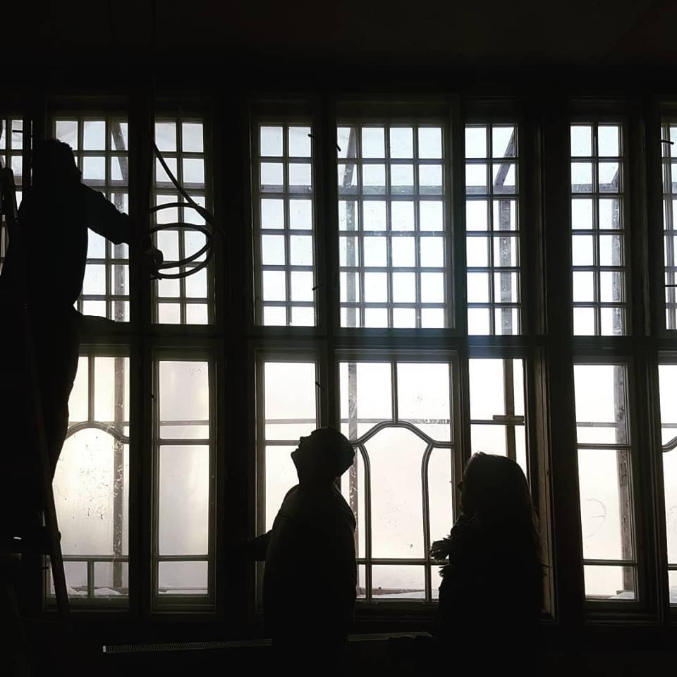 Vila Lavína a jej okná