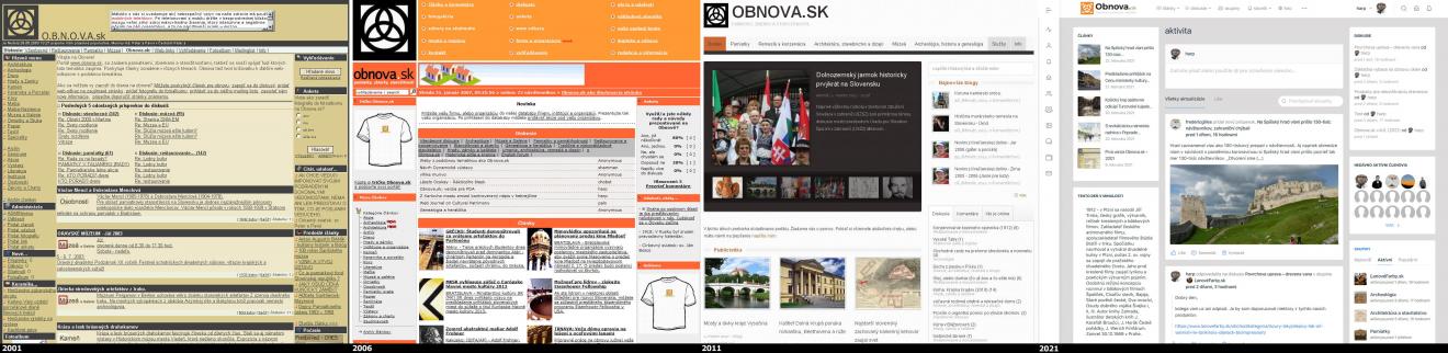 Portál Obnova.sk oslavuje 20 rokov