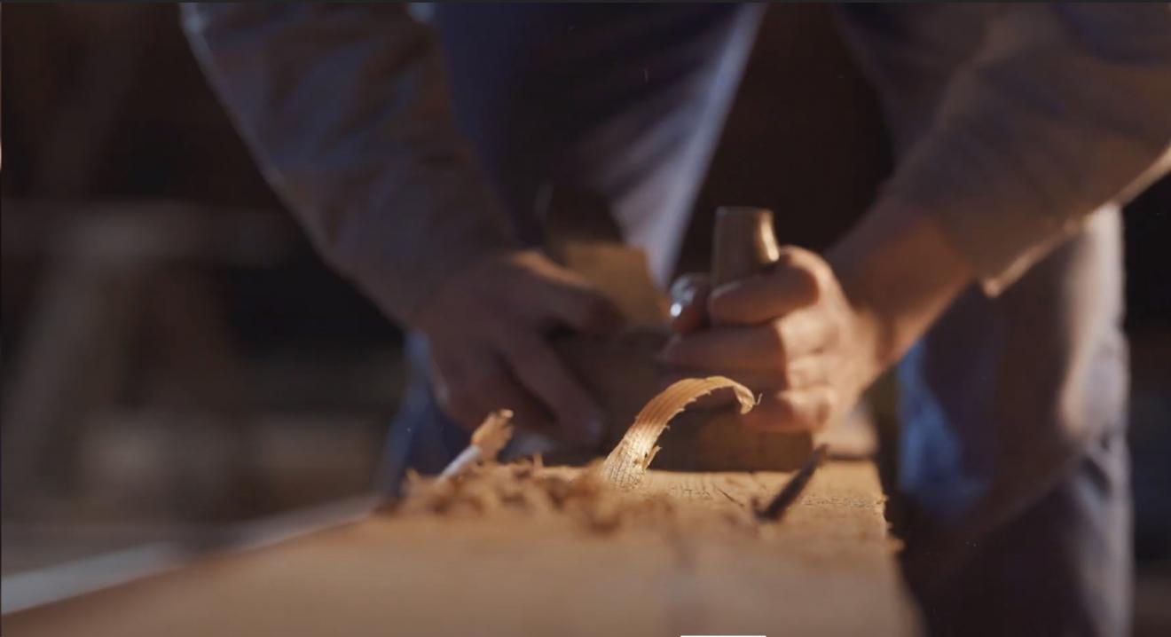 Oživené pamiatky - tradičné remeselné postupy - Obnova drevených konštrukcií
