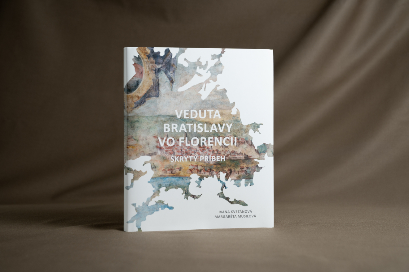 Kniha Bratislava vo Florencii