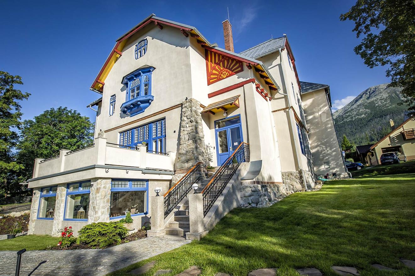 Jedna z nominácií na CEZAAR - Obnova a adaptácia secesnej vily Jakoba Bruchsteinera, Nový Smokovec